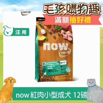 Now! 紅肉無穀天然糧 小型犬配方(12磅)