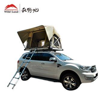 秋野地  諾曼地 軟頂液壓車頂帳篷(車頂帳)   3年研發,為汽車露營而生