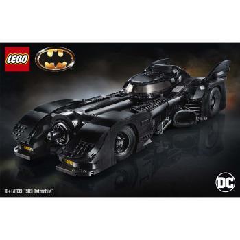 LEGO樂高積木 76139 SUPER HEROES 超級英雄系列 1989 Batmobile