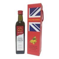[澳利康]澳洲Red Island(紅島)特級冷壓初榨橄欖油500ml單入禮盒組