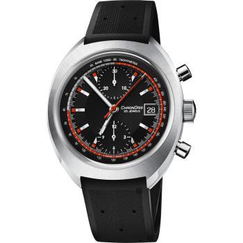 ORIS豪利時 CHRONORIS 限量200只賽車計時機械錶-黑/40mm 0167377394034-SetRS