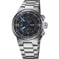 ORIS 豪利時 F1 Williams Martini Racing 限量機械錶-44mm 0177477174184-SETMB