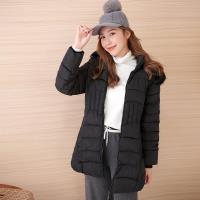 【Abbie】新款大毛領連帽收腰棉絨外套