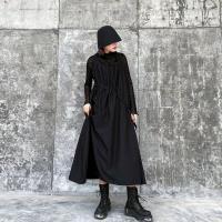 個性潮流無袖款削肩背心裙F(共二色)-CLORI
