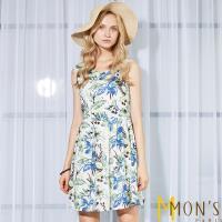 MONS夏日時尚印花風采洋裝