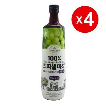 韓國CJ青葡萄果醋(900ml)-4罐組