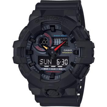 CASIO 卡西歐 G-SHOCK 東京霓虹手錶 GA-700BMC-1A