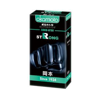 岡本 Strong威猛持久型 加厚0.1mm 10入 保險套