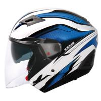 [ZEUS]611E TT10 3/4罩(安全帽/機車/內襯/鏡片/半罩/開放式安全帽/抗UV/內藏墨鏡/GOGORO)