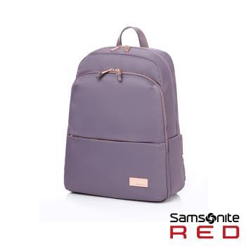 Samsonite RED RENY 超輕量尼龍女性筆電後背包13吋(紫)GV1*91001