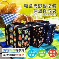 DF Queenin流行 - 輕食尚野餐必備保溫保冷袋(隨機出貨)