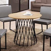 Boden-雷米爾2.7尺工業風圓形餐桌/洽談桌/休閒桌