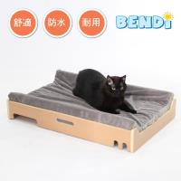 BENDI-舒適原木寵物睡墊、睡床(防水、易清洗)