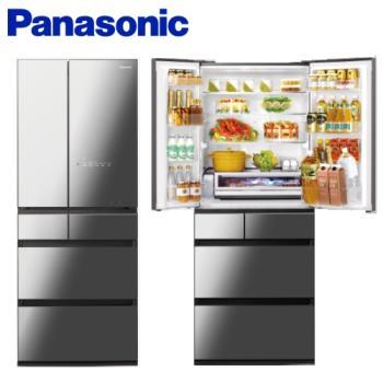 滿額登記送次氯酸水機★Panasonic 國際牌日本製650公升一級能效六門變頻冰箱(鑽石黑) NR-F655WX-X1-庫
