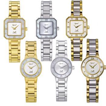 Ogival 瑞士愛其華-真鑽石英腕錶(多款任選) 330-01 /330-02