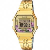CASIO 卡西歐 Digital 玫瑰物語電子錶-金 LA-680WGA-4CDF