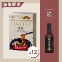 芝初椒麻胡麻拌麵醬12入箱購組 (加贈阿原乾洗手)