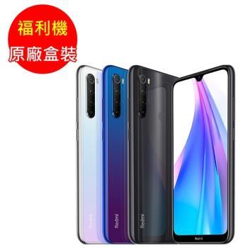 福利品_紅米 Note 8T  6.3吋八核心雙卡智慧手機(4G+64G)七成新