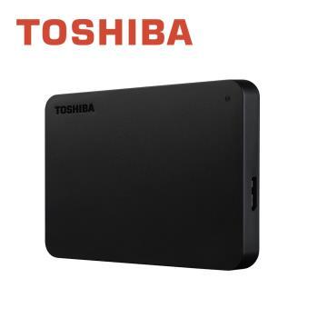 【Toshiba】A3 黑靚潮III 2TB USB3.0 2.5吋行動硬碟