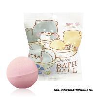 日本NOL-療癒的柴犬(Line貼圖)入浴球x5 (內附公仔 採隨機出貨)