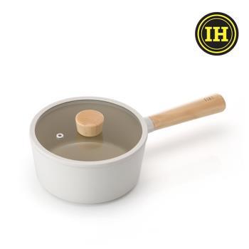 NEOFLAM FIKA系列 18cm 鑄造不沾單柄湯鍋(IH、電磁爐適用)