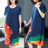 歐風KEITH-WILL (預購) 時尚潮流時髦印花洋裝