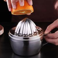 PUSH!餐具廚房用品手動榨汁機榨橙器手壓檸檬柳丁榨汁杯D212