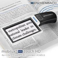 【德國 Eschenbach】mobilux DIGITAL Touch HD 4.3吋觸控螢幕手持型可攜式擴視機 16511 (公司貨)