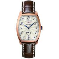 LONGINES 浪琴 Evidenza 典藏 18k玫塊金機械錶(L26428734)