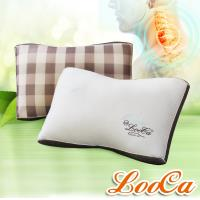 LooCa抗菌乳膠+負離子健康獨立筒枕(2入)特談