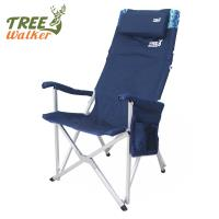 TreeWalker 高背枕頭折疊式大川椅(露營椅)-兩色可選