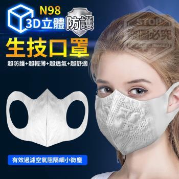 你會買 N98防護3D立體生技口罩*1包(100入/包)