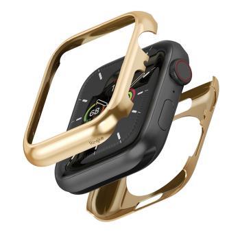 Rearth Apple Watch S4/5/6/SE 44mm 全包覆不鏽鋼錶框