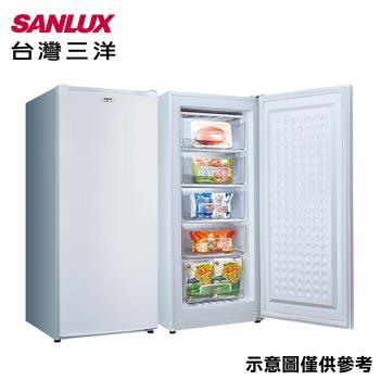 防疫必備現貨  SANLUX台灣三洋150公升直立式冷凍櫃 SCR-150A-庫(G)