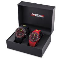 Scuderia Ferrari 法拉利 APEX系列父子套組錶-44+38mm FA0870044