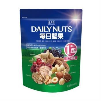 【盛香珍】每日堅果125g/包(4種堅果+2種果乾/內有5小包)