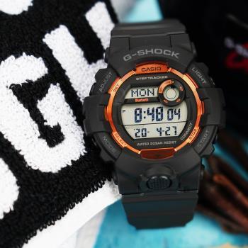 CASIO 卡西歐 G-SHOCK 藍牙計步運動手錶 GBD-800SF-1