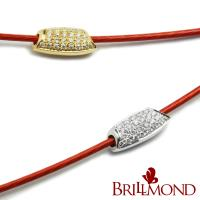 💖新貨到【BRILLMOND JEWELRY】鑽米18K金鑽石手鍊(18K金雙色選)