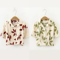 【韓國K.W. 】 (預購)  韓國名媛玩美潮流短袖襯衫上衣
