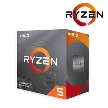 【AMD】Ryzen 5-3500X 3.6GHz六核心 中央處理器