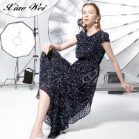 CHENG DA 春夏專櫃精品時尚短袖洋裝 NO.510437