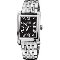 ORIS 豪利時 Rectangular 羅馬機械錶-24.5x38mm 0156176564074-0781782
