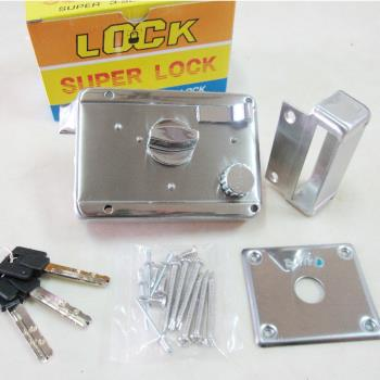 LI003 BIRD 三段鎖 白鐵 不鏽鋼材質 單開 銅製鎖心 不銹鋼三段鎖 以色列 鋁 硫化銅門 白鐵門 門鎖