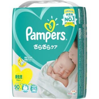PAMPERS 全新巧虎黏貼尿布-NB90,S82,M64,L54片x4包