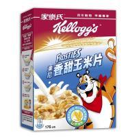 【家樂氏】玉米片3盒;2種口味任選(香甜/蜂蜜)