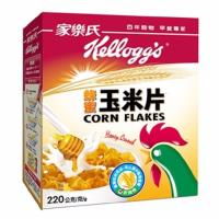 【家樂氏】玉米片10盒;2種口味任選(香甜/蜂蜜)