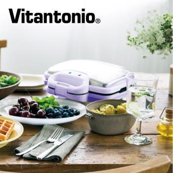 日本Vitantonio小V鬆餅機 242(甜心紫)再加贈2烤盤!!!