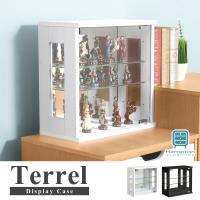 【Hampton 漢汀堡】特雷爾玻璃展示櫃-2色可選