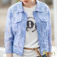 MONS法式工藝優雅蕾絲外套