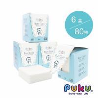 PUKU藍色企鵝 80抽乾濕兩用紙巾【6盒】